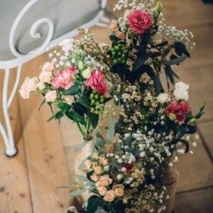 Hochzeitsfloristik SILBERKNOSPE