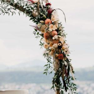 Hochzeitsblumen Ostschweiz SILBERKNOSPE