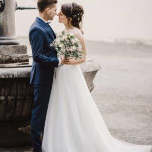 Hochzeitsfloristik Blumen für die Braut SILBERKNOSPE Ostschweiz