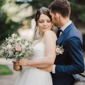 Hochzeitsfloristik Brautstrauss SILBERKNOSPE Aadorf und Umgebung